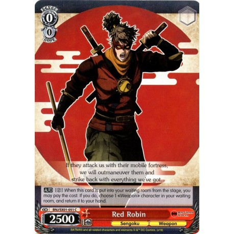 BNJ/SX01-051 C Red Robin
