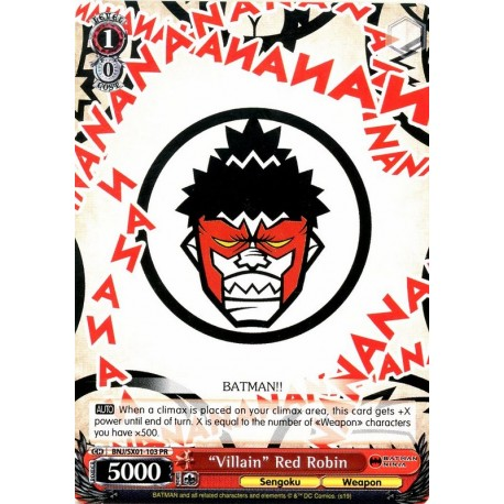 BNJ/SX01-103 PR Villain Red Robin