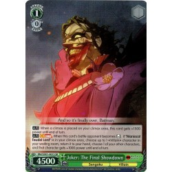BNJ/SX01-001S SR Joker: The Final Showdown
