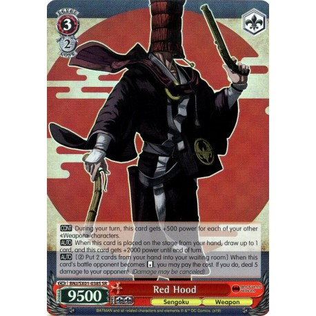 BNJ/SX01-038S SR Red Hood