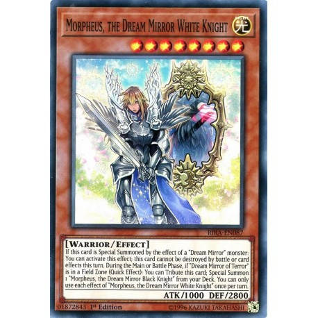 RIRA-EN087 SuR Morpheus, the Dream Mirror White Knight