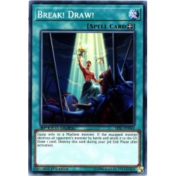 YGO SBSC-EN042 Destruction et Pioche / Break! Draw!