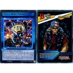 YGO SBSC-ENS01 Heavy Metal Raiders