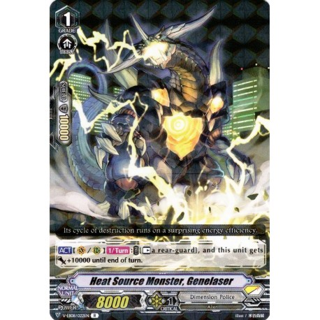 CFV V-EB08/022EN R Heat Source Monster, Genelaser