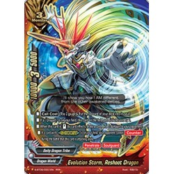 BFE S-BT05/0001EN RRR Evolution Storm, Reshoot Dragon