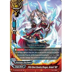 "BFE S-BT05/0011EN RR Fifth Omni Cavalry Dragon, Arkaid ""SD"""