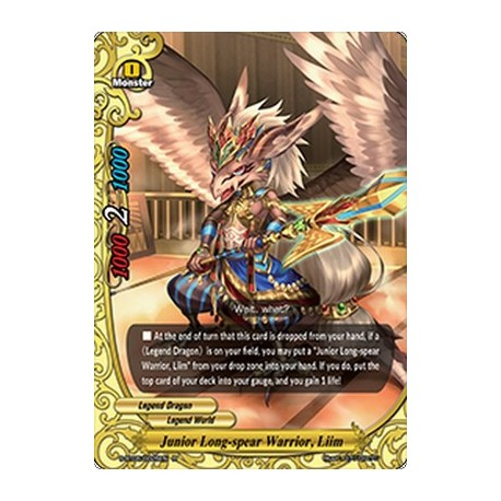 BFE S-BT05/0025EN R Junior Long-spear Warrior, Liim