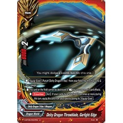 BFE S-BT05/0037EN U Deity Dragon Throwblade, Garlight Edge