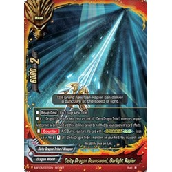 BFE S-BT05/0070EN Secret Deity Dragon Beamsword, Garlight Rapier