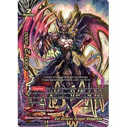 BFE S-BT05/0077EN Secret Evil Demonic Dragon, Vespertilio