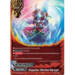 BFE S-BT05/0022EN FOIL/R Dragowhite, Fifth Omni Holy Light