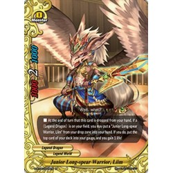BFE S-BT05/0025EN FOIL/R Junior Long-spear Warrior, Liim