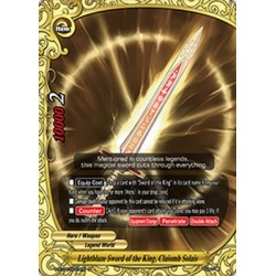 BFE S-BT05/0027EN FOIL/R Lightblaze Sword of the King, Claiomh Solais