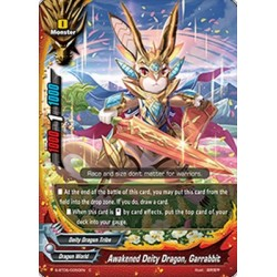 BFE S-BT05/0050EN FOIL/C Awakened Deity Dragon, Garrabbit