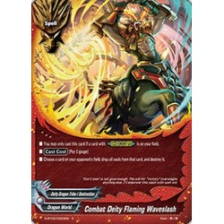 BFE S-BT05/0053EN FOIL/C Combat Deity Flaming Waveslash