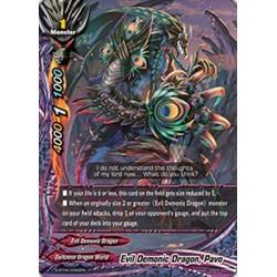 BFE S-BT05/0062EN FOIL/C Evil Demonic Dragon, Pavo