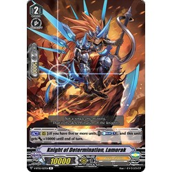 CFV V-BT05/027EN R Knight of Determination, Lamorak