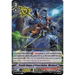 CFV V-BT05/036EN R Stealth Rogue of Proscription, Mizukaze