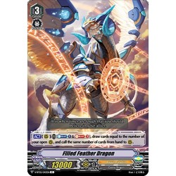 CFV V-BT05/043EN C Filled Feather Dragon