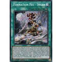 YGO FIGA-FR020 Formation Feu - Ingen