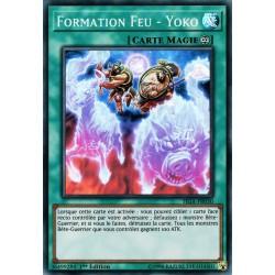 YGO FIGA-FR030 Formation Feu - Yoko