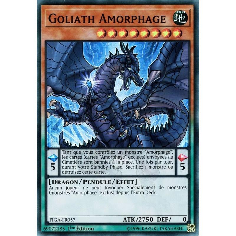 Carte Yu Gi Oh GOLIATH AMORPHAGE FIGA-FR057