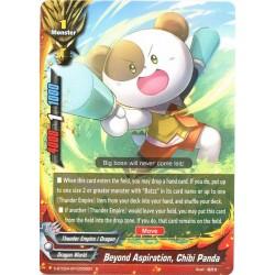 BFE S-BT02A-SP/0005EN Foil/R Beyond Aspiration, Chibi Panda