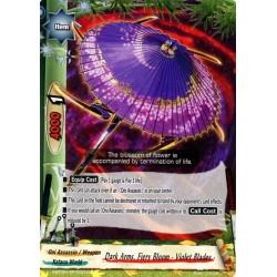 BFE S-BT02A-SP/0021EN Foil/C Dark Arms, Fiery Bloom - Violet Blades -