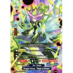 "BFE S-BT02A-UB04/0029EN Foil/R Dragon Force, ""Style of Binds"""