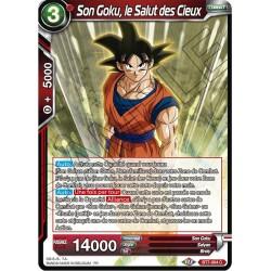 DBS BT7-004 C Son Goku, le Salut des Cieux