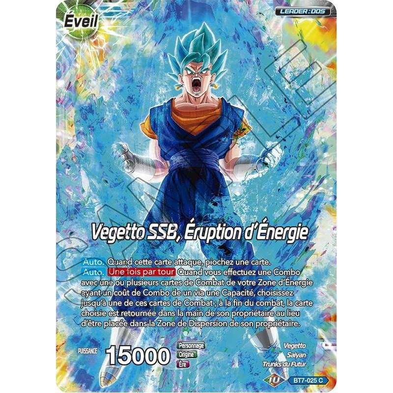 le Déblayeur BT7-027 Carte DBS ASSAULT OF X2cards DBS BT7-027 UC Son Goku SSB