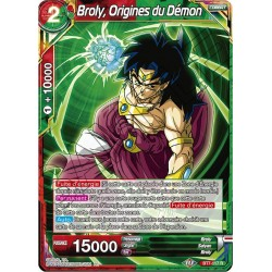 DBS BT7-117 R Broly, Origines du Démon