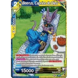 DBS BT7-120 R Beerus, Caprice de Dieu