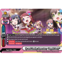 "BFE S-UB-C02/0032EN Foil/R Up and Coming Superstars, ""Poppin'Party"""
