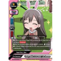 BFE S-UB-C02/0037EN Foil/U Chasing Rabbits in the Garden, Tae Hanazono