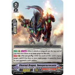 CFV V-EB09/005EN RRR Clearout Dragon, Sweeperacrocanto