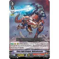CFV V-EB09/019EN R Fiery Light Dragon, Opticalcerato