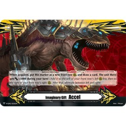 CFV V-GM2/0035EN Imaginary Gift Thundering Sword Dragon, Angerblader Accel II Imaginary Gift Marker