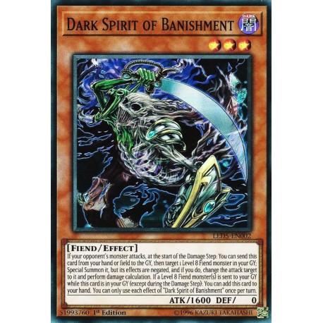 YGO LED5-EN002 Dark Spirit of Banishment