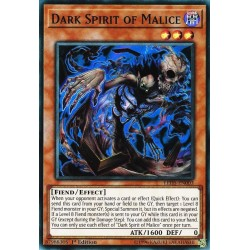 YGO LED5-EN003 Dark Spirit of Malice