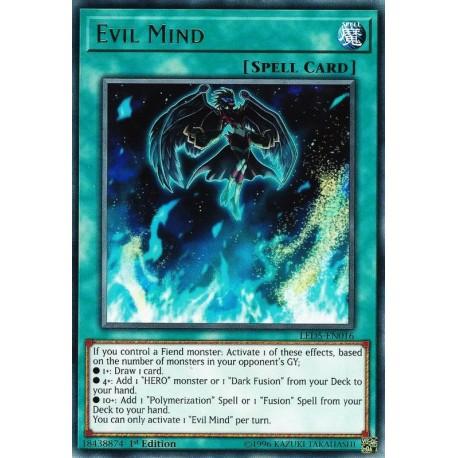YGO LED5-EN016 Evil Mind