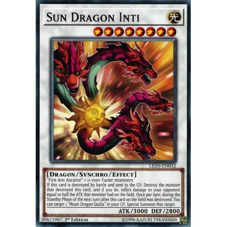 YGO LED5-EN032 Sun Dragon Inti