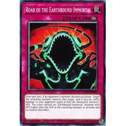 YGO LED5-EN057 Roar of the Earthbound Immortal (Updated from: Roar of the Earthbound)