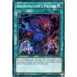 YGO CHIM-EN054 Prison de l'Abomination/Abomination's Prison