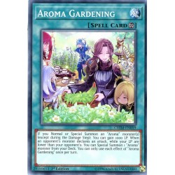 YGO CHIM-EN059 Jardinage d'Arôma/Aroma Gardening