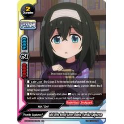 BFE S-UB-C03/0014EN RR Idol Who Really Loves Books, Fumika Sagisawa