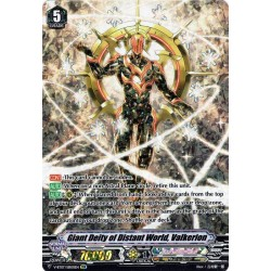 CFV V-BT07/SSR01EN SSR Giant Deity of Distant World, Valkerion