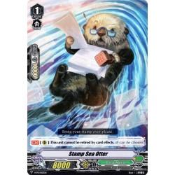 CFV V-BT07 V-PR/0113EN PR(Foil) Stamp Sea Otter