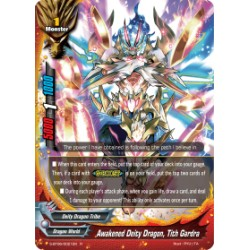 BFE S-BT06/0021EN Foil/R Awakened Deity Dragon, Tith Gardra
