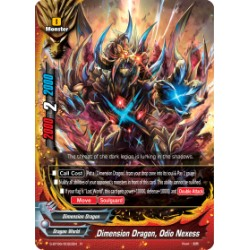 BFE S-BT06/0022EN Foil/R Dimension Dragon, Odio Nexess
